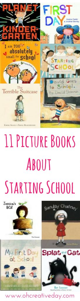 Picture books are an excellent way to explore different situations and emotions. Here are 11 of our favourite picture books about starting school.