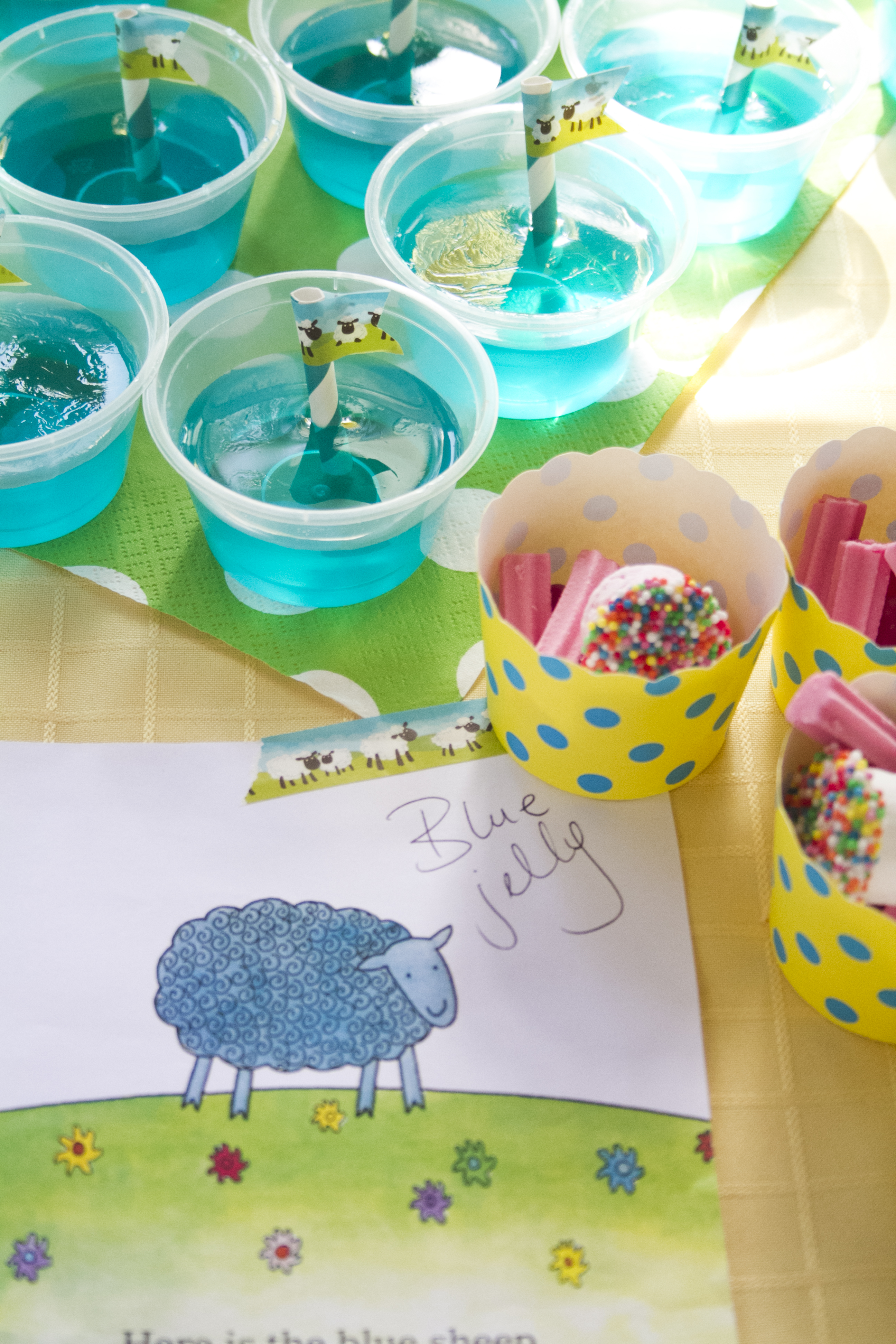 All the inspiration you need to throw a Where is the Green Sheep? party