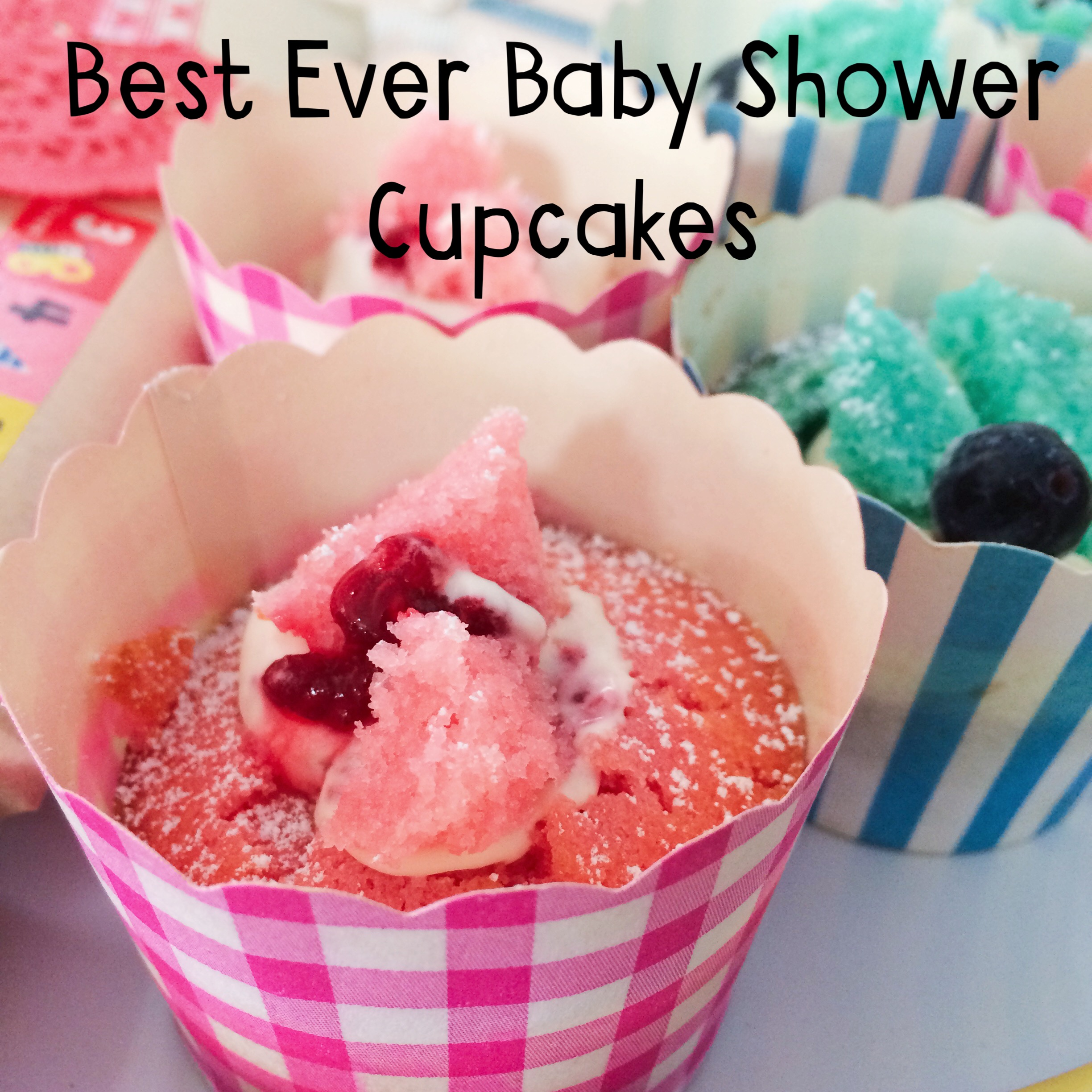 Recipe best ever baby shower cupcakes oh creative day for Cupcake recipes for baby shower girl