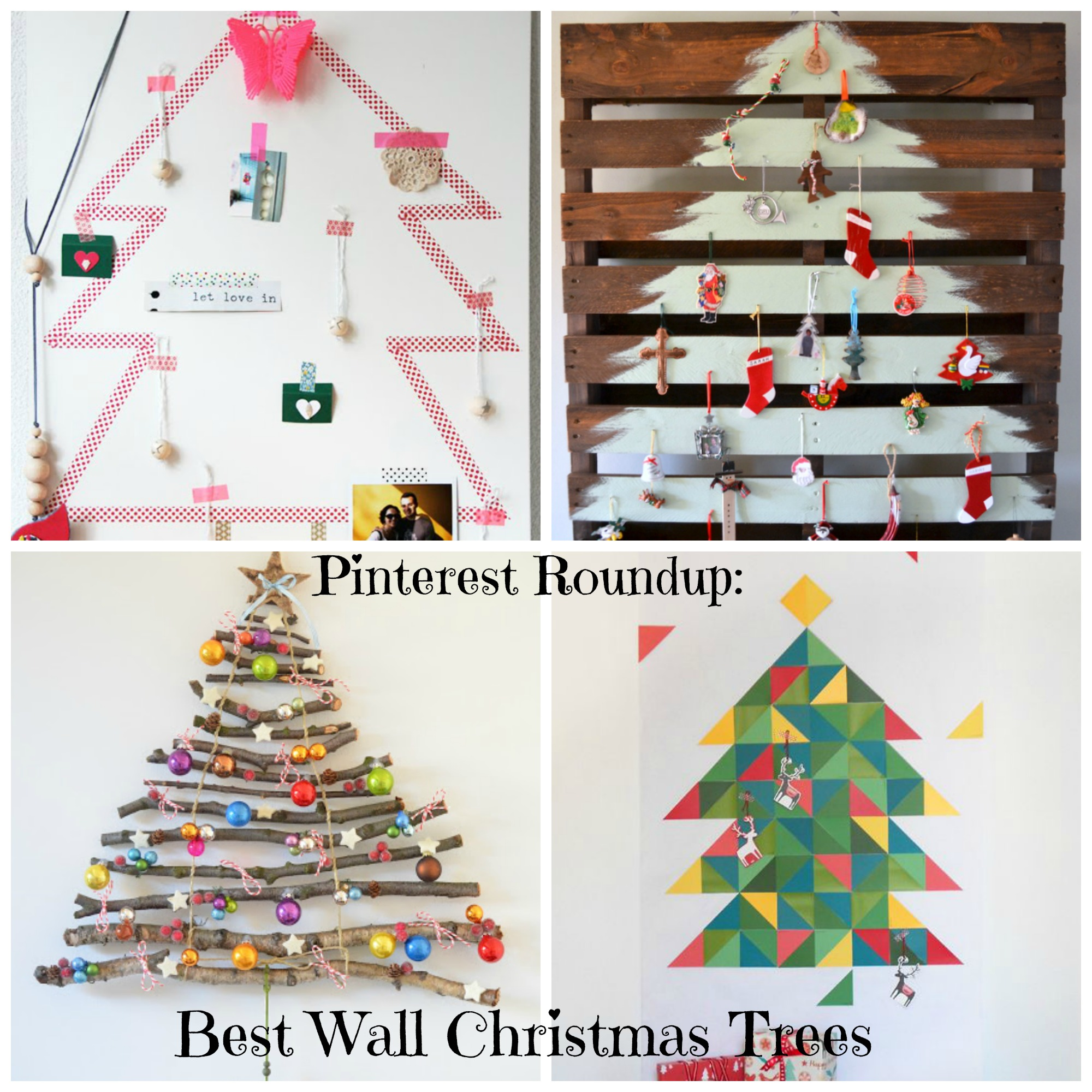 Best Wall Christmas Trees