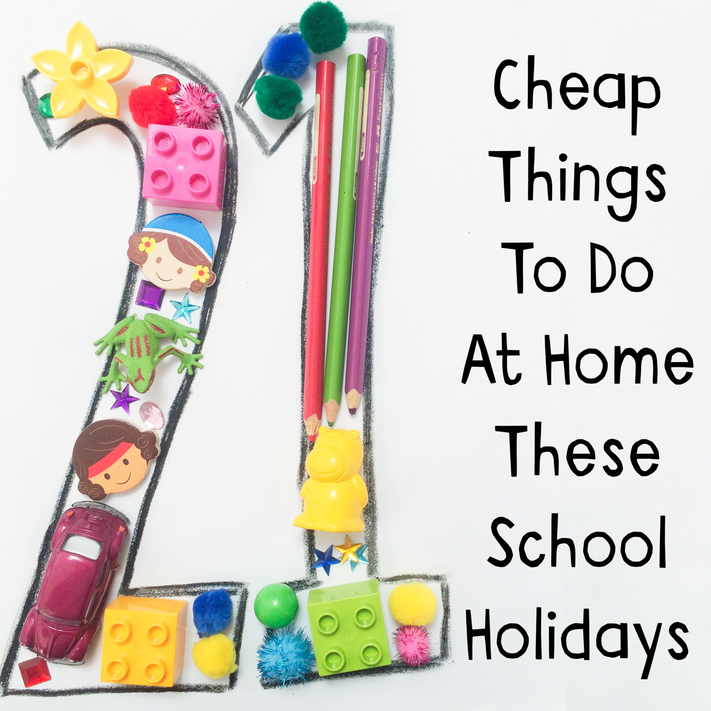 21 Cheap Things To Do At Home These School Holidays - Oh Creative Day