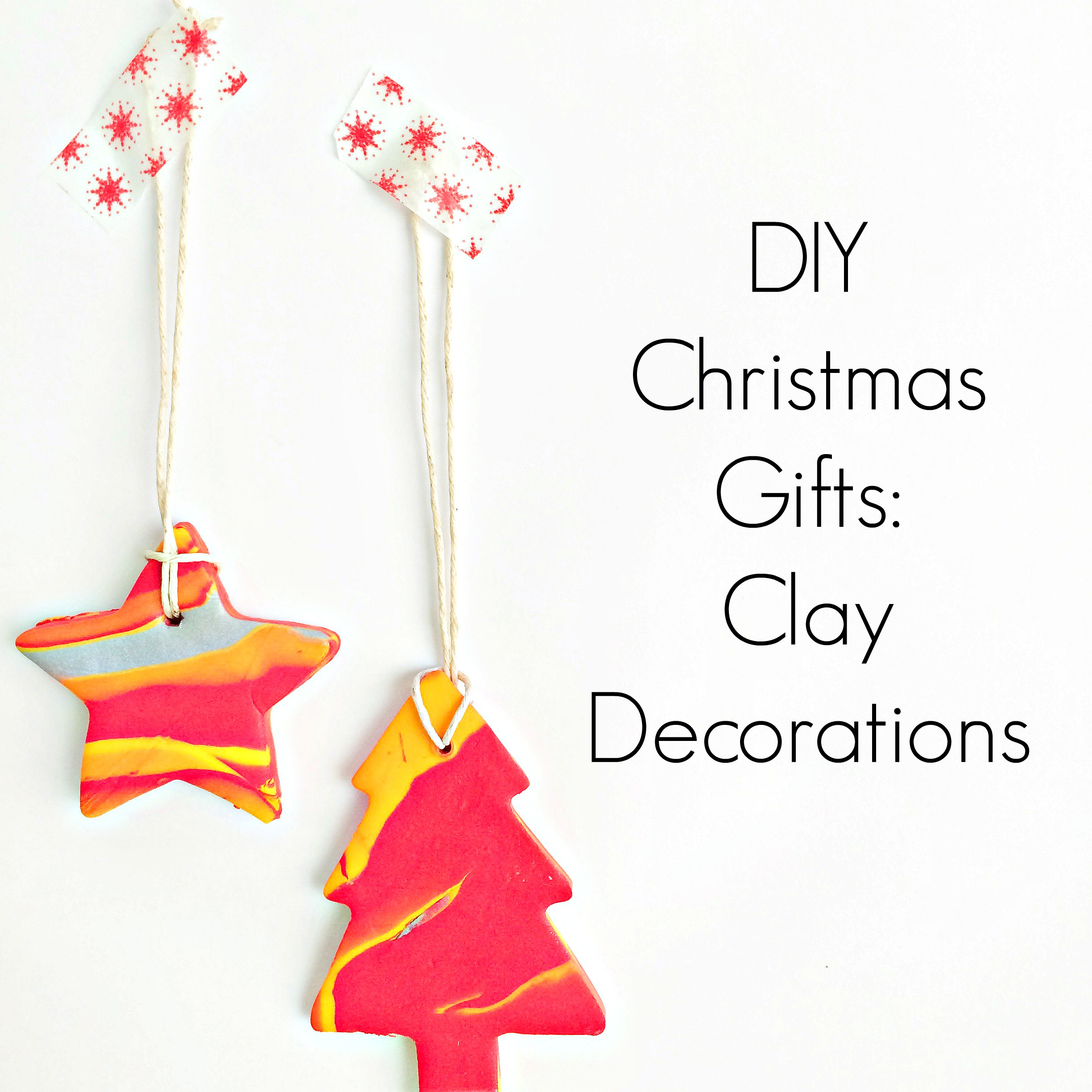 DIY Clay Decorations