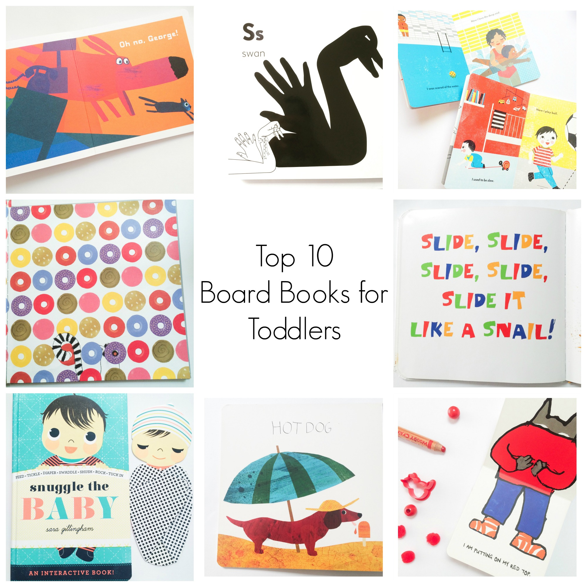 Top 10 Board Books for Toddlers