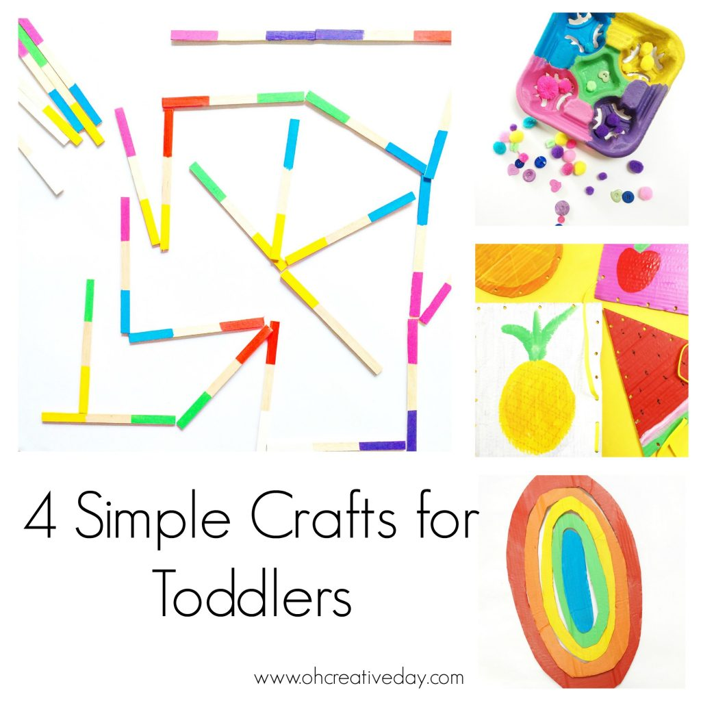 4 Simple Craft for Toddlers