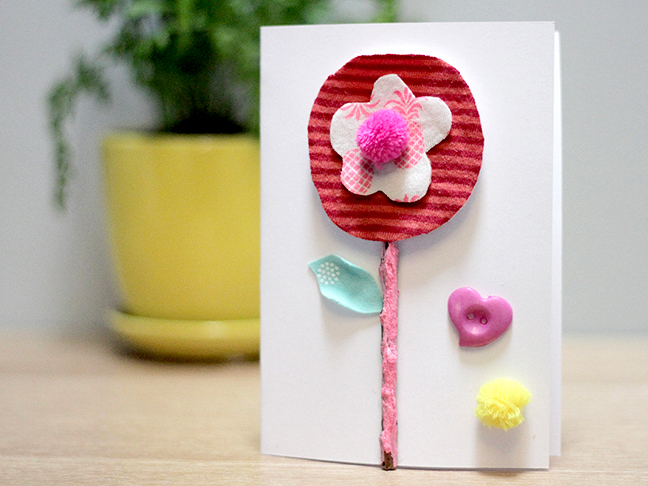 Fabric Flowers Oh Creative Day for Mumtastic