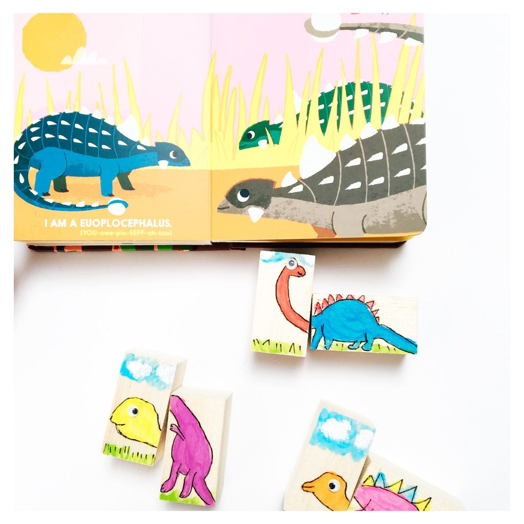 DIY Dino Blocks