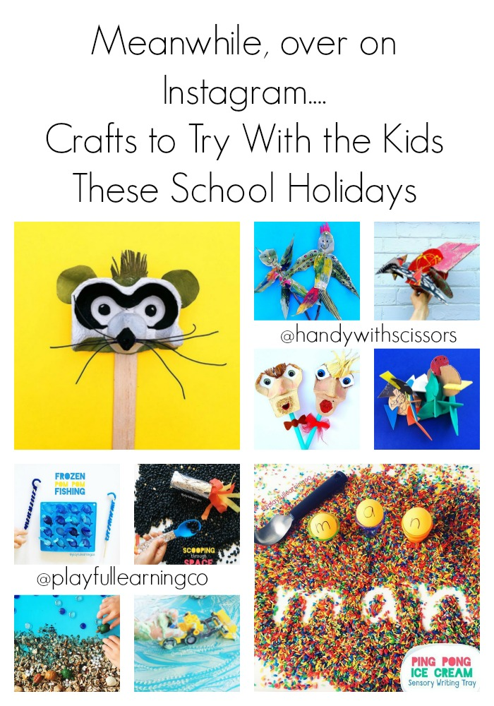 Crafts School Holidays