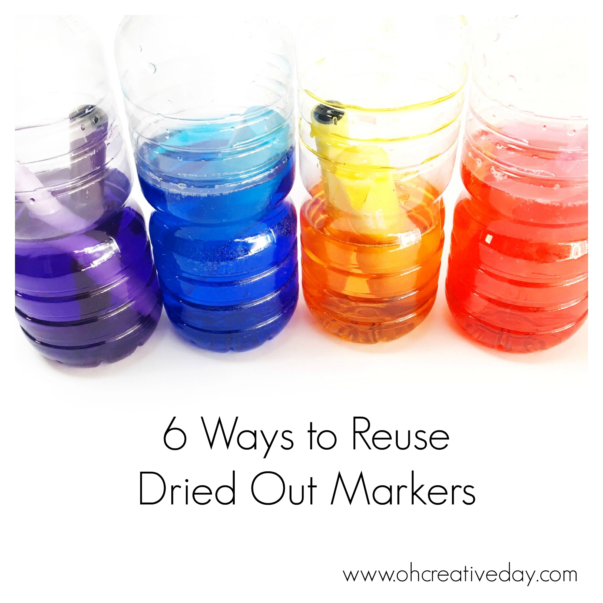 Reuse Dried Out Markers