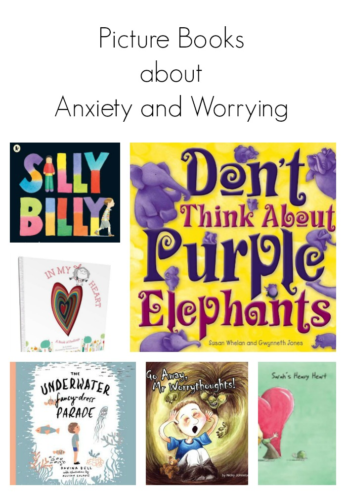Picture books about anxiety