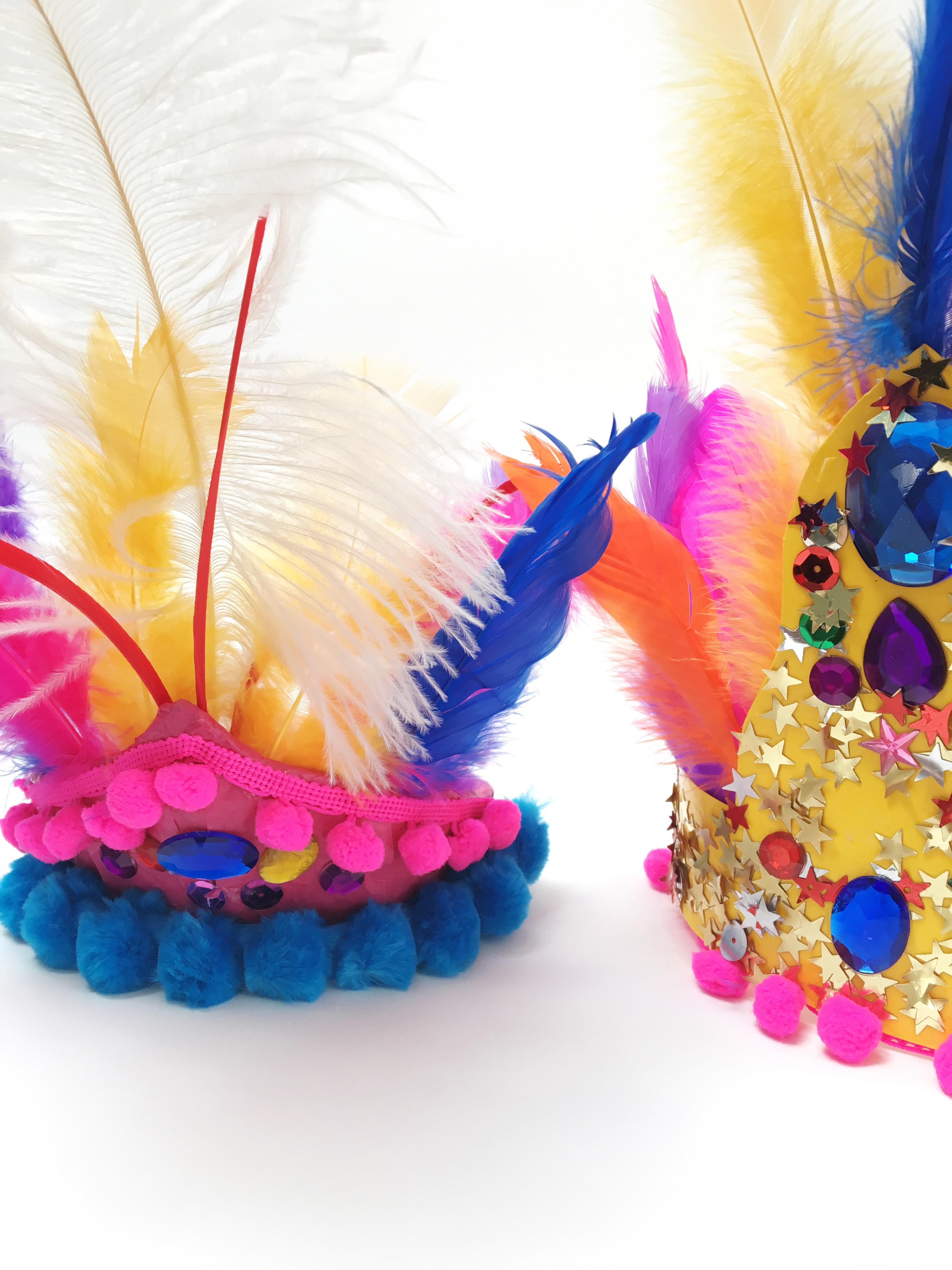How to make an Olympic-inspired head dress inspired by the Rio Olympics