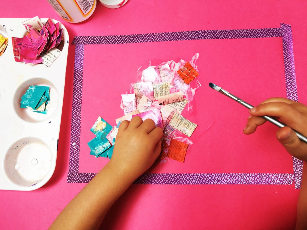 Simple Collage Projects for Kids