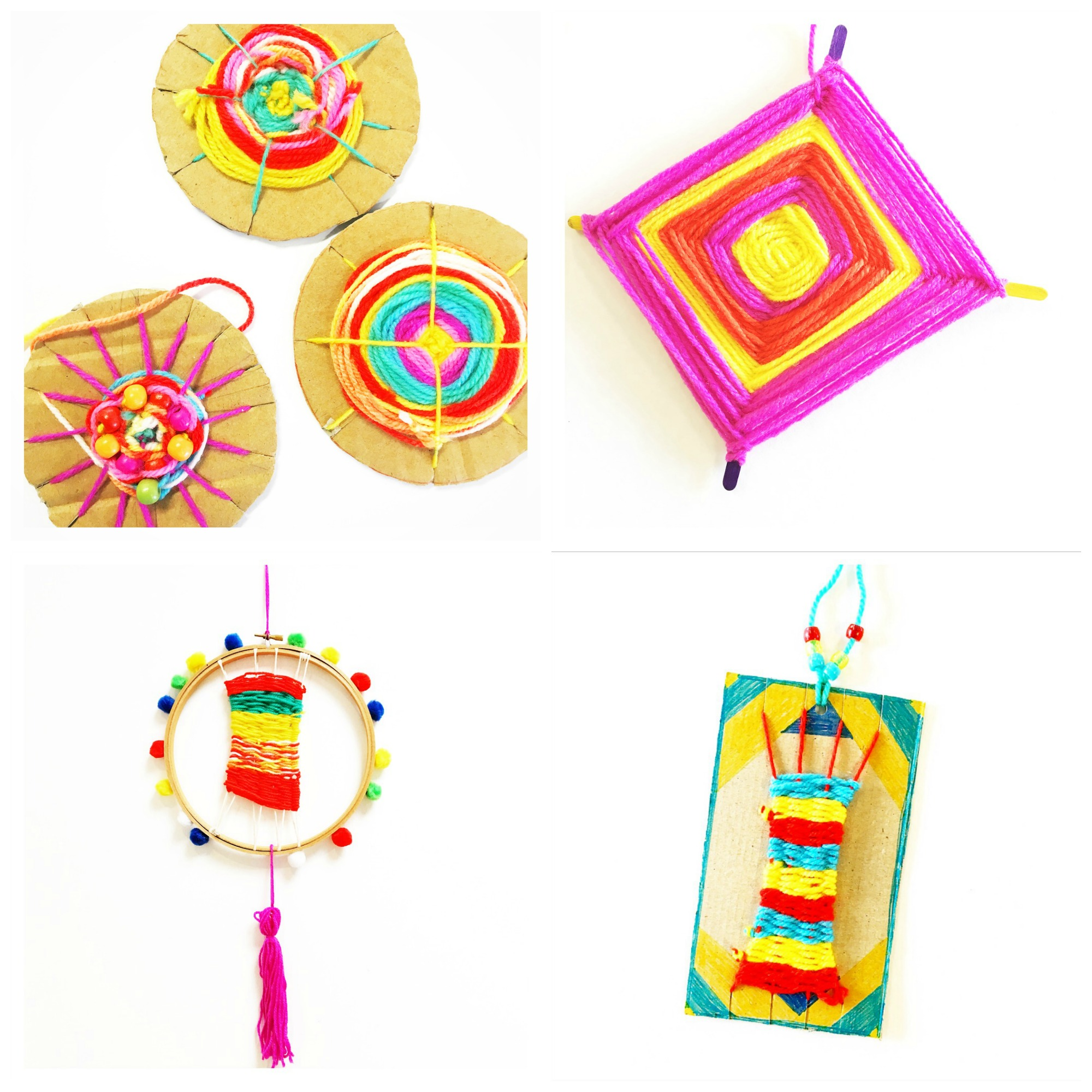 4 Weaving Projects for Kids