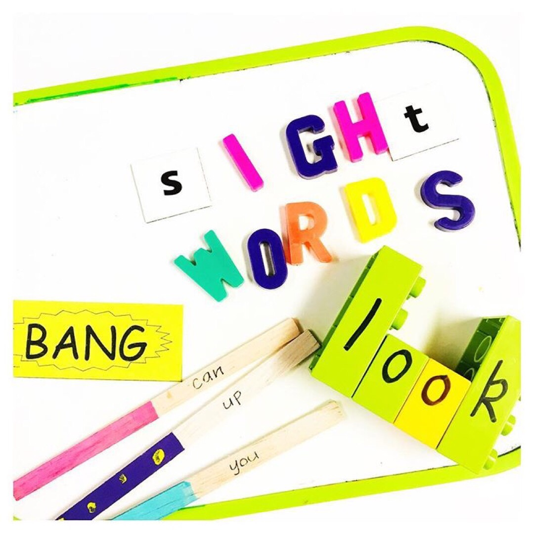 15 Playful Ways to Learn Sight Words