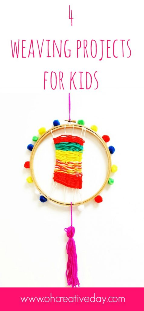 4 simple weaving projects for kids