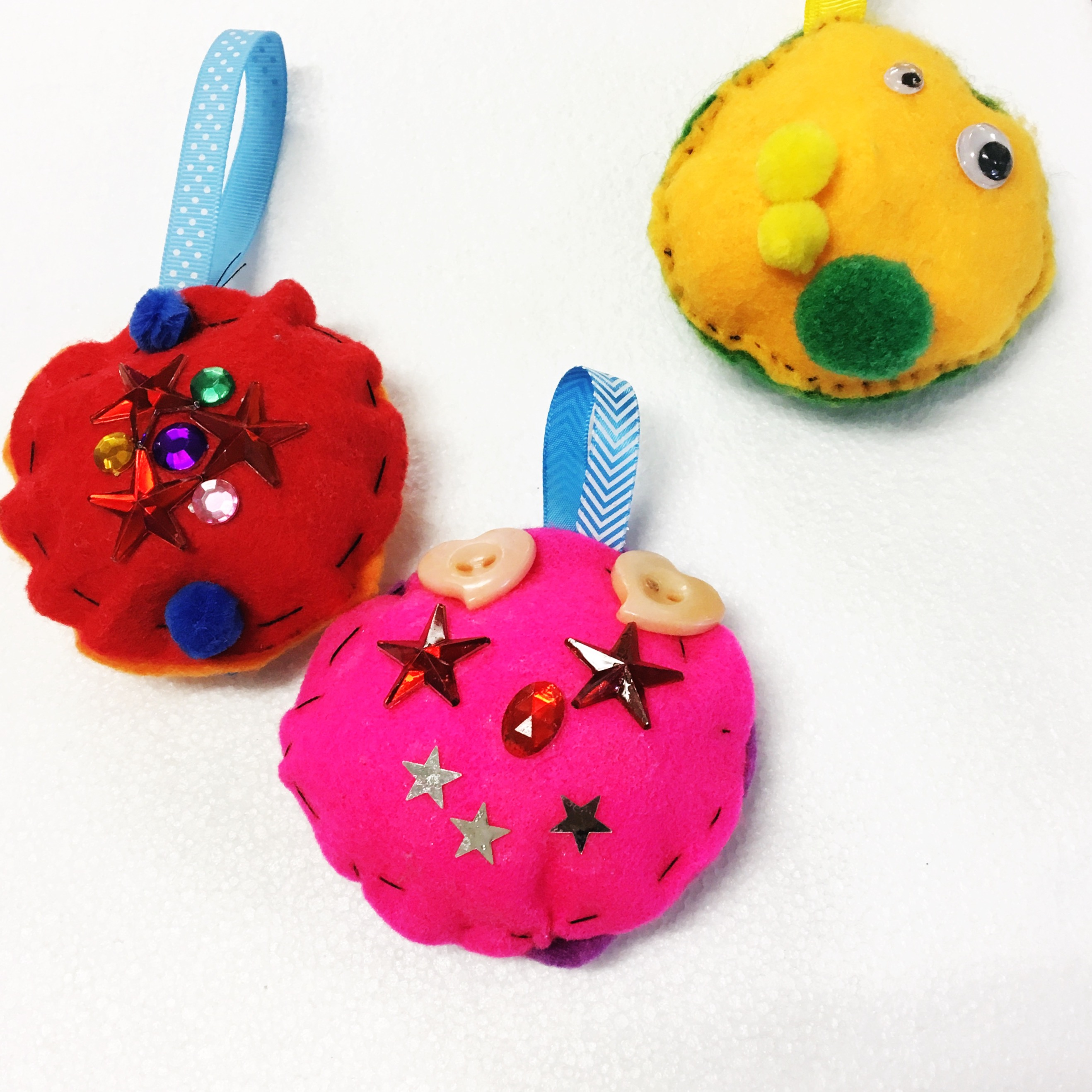 Felt Christmas Baubles
