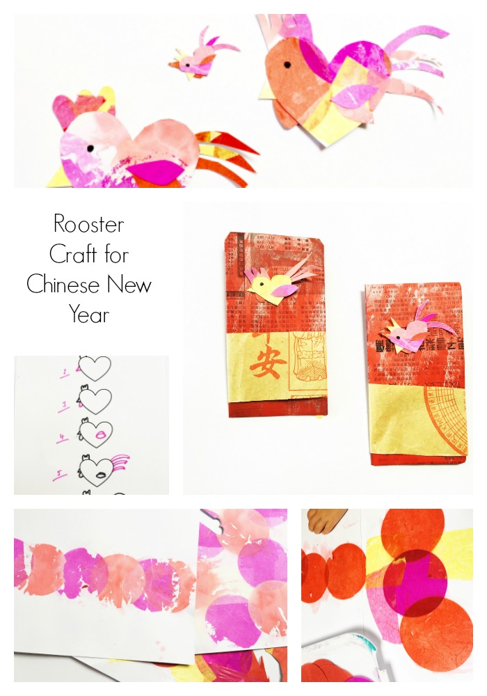 Rooster Craft Chinese New Year