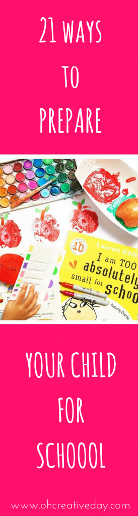Do you know a little human who is about to start school? Here are 21 Kindy-Teacher-Approved ways to prepare your child for school.