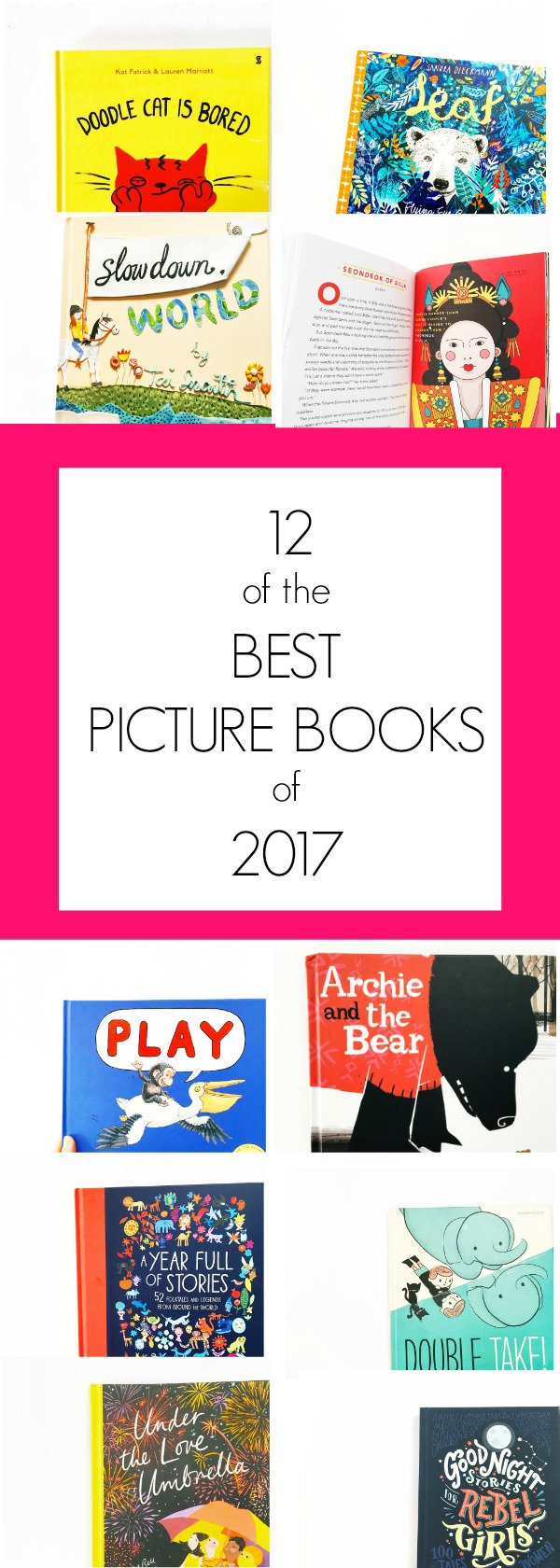 12 of the best picture books of 2017 (so far.) A round-up of some of our favourite picture books that have been published this year.