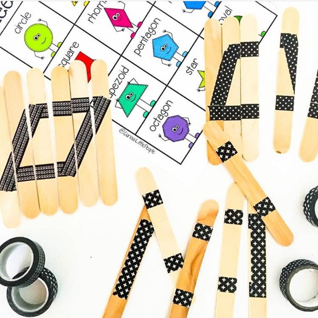 Looking to explore shapes with your littles? Here are 9 hands-on, fun and creative ways to learn shapes.