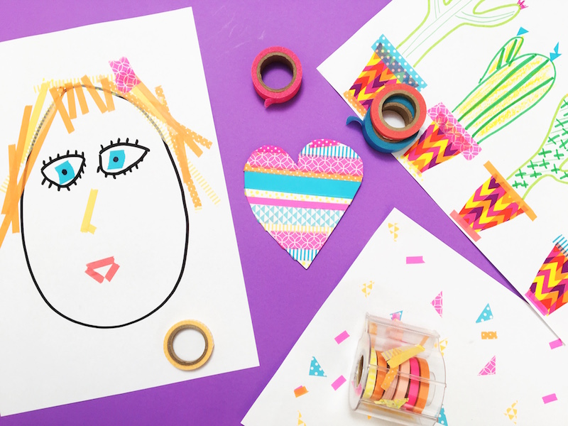 ENJOY MESS FREE ART WITH KIDS Do you want to do more art with your kids but can't handle the idea of all the mess? Here are some low mess art ideas to enjoy creating with your artists.