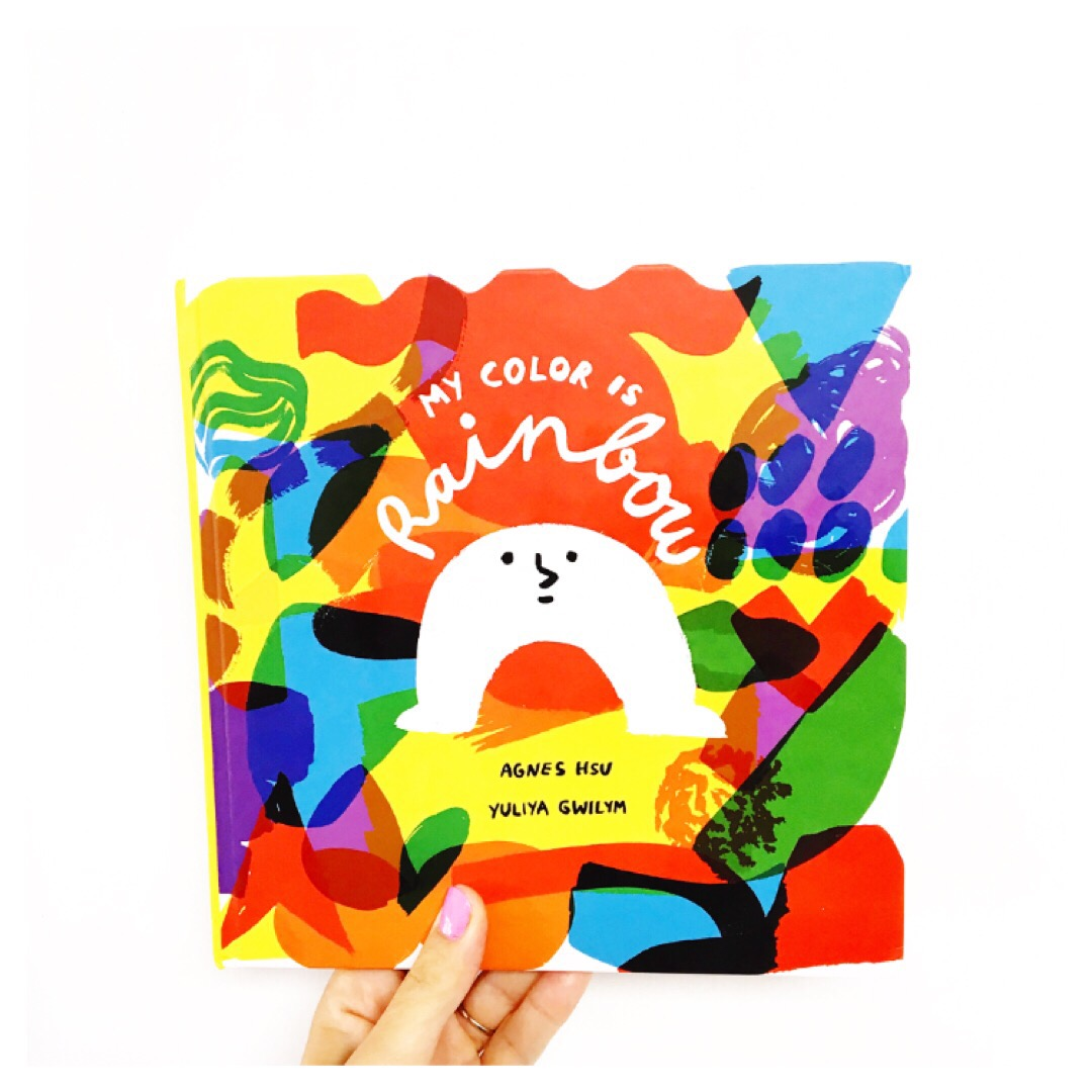 My Color is Rainbow picture book by Agnes Hsu