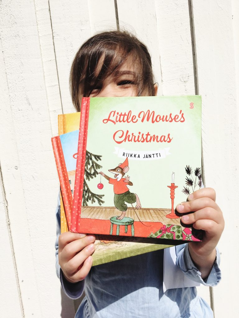 It is such a treat to have the author of the Little Mouse series, Riikka Jantti, as an Oh Creative Lady. We are big fans of the Little Mouse series here.