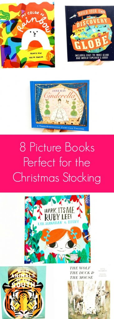 8 picture books perfect for the Christmas wishlist. Picture books to suit every little reader!