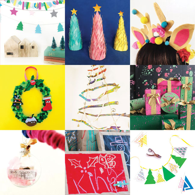 15 creative ladies from across the globe came together to share their love of all things Christmas crafts. Here are the 15 projects that made up Craftmas.