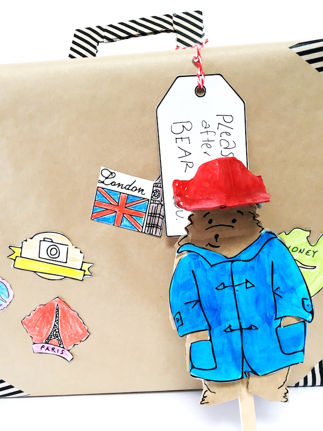 Did your family catch everybody's favourite bear when Paddington 2 hit cinema screens late last year? To celebrate the release of the film on DVD and Blu-Ray, the Mumtastic team asked my to come up with 3 Paddington craft projects.