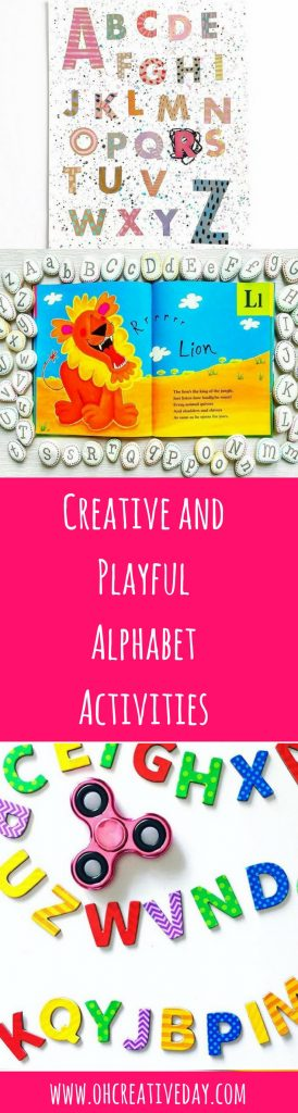 If you're looking for some creative and playful alphabet activities, this is the post for you. Here are 12 alphabet activities for a wide range of learners.