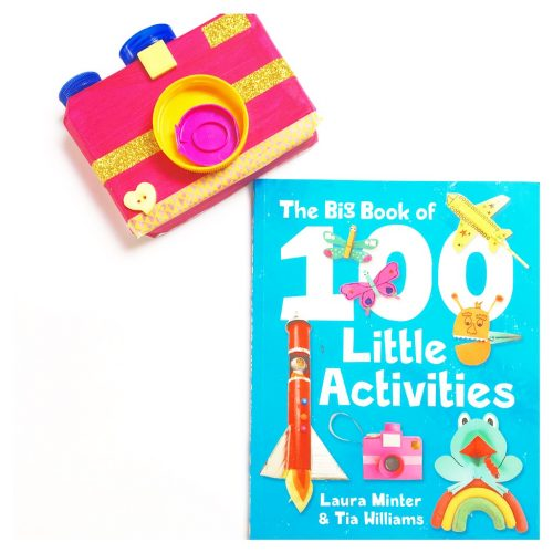 My friends from the Little Button Diaries have a craft book empire. They have so many great craft books to help you get creative with your children. The Big Book of 100 Little Activities is one such book.