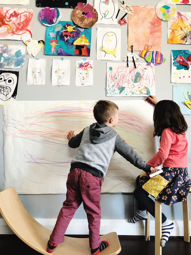 9 Action Art Ideas For Kids Oh Creative Day